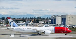 Robert Burns Dreamliner from Norwegian Air