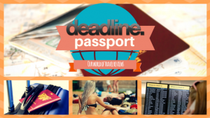 Logo for Passport travel reviews, from Deadline News