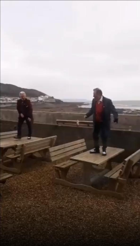 Teddy boys dancing-Viral Video News UK