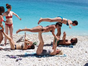 Travel review - beautiful beaches for Greek island yoga retreat