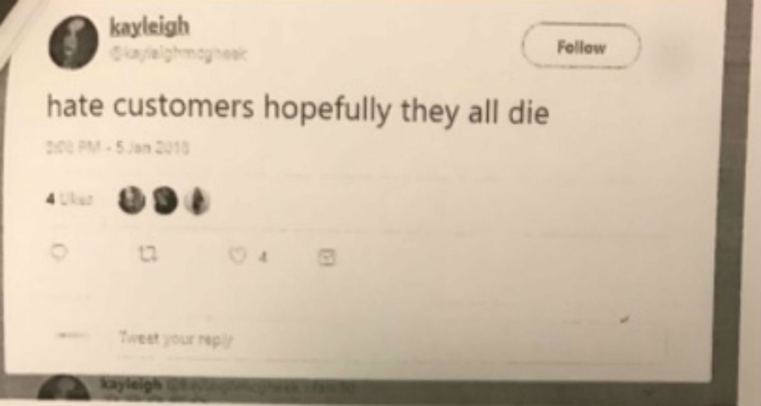 Sacked Homebase worker shares hilarious anti-customer tweets