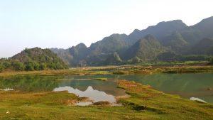 Van Long Nature Reserve, Nimh Binh, Vietnam
