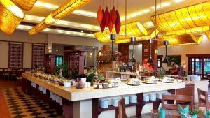Emerelda Resort breakfast restaurant, Ninh Binh, Vietnam