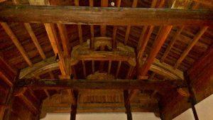 Beautiful wooden ceilings, Emerelda Resort, Ninh Binh, Vietnam