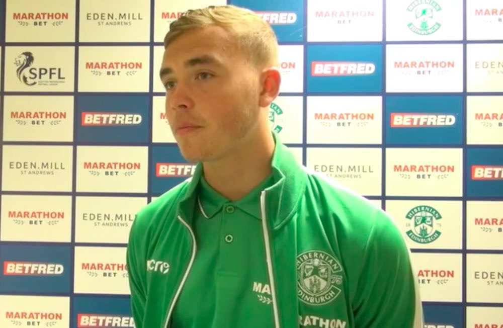 Hibs defender Ryan Porteous hopes to have an injury-free campaign | Hibs news