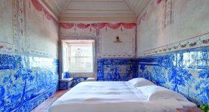 Palacio Belmonte Hotel blue tiles, Lisbon, Portugal