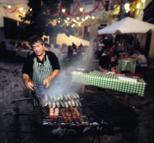 Street food inLisbon, Portugal
