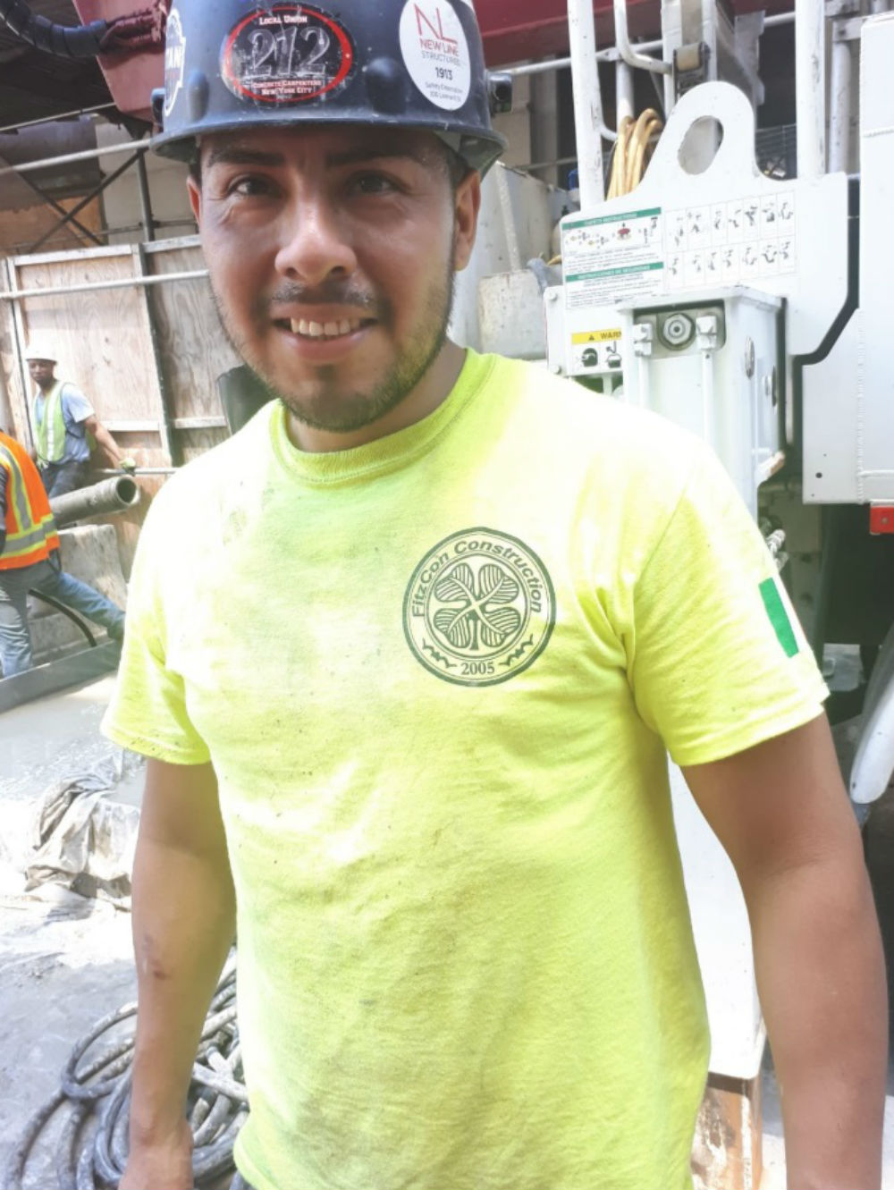 Builder comes across replica four leaf clover logo on construction site of his favoured club-Scottish Football News