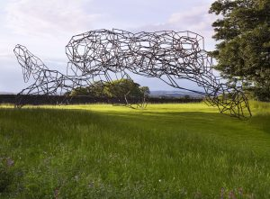 Antony Gormley's Firmament at Jupiter Artland.