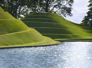 Life Mounds by Charles Jencks at Jupiter Artland