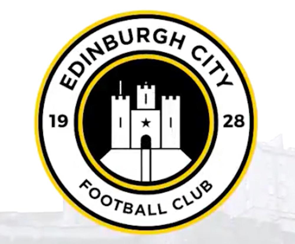The club badge of Edinburgh City   Edinburgh City FC news