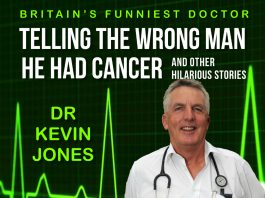 If you want a prescription for humour, look no further. Check out doctor turned comedian Dr Kevin Jones