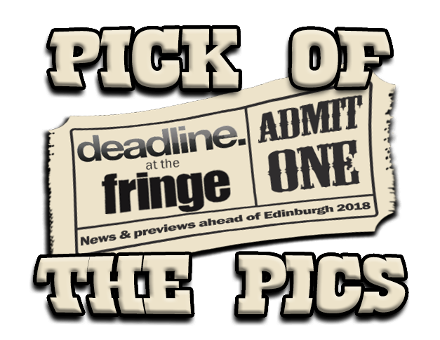 Logo - pick of the pics at Edinburgh Festival Fringe 2018