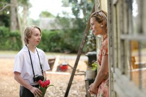 Melissa George and Ed Oxenbould in The Butterfly Tree