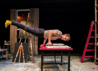 "Thom Monckton: ""The Artist"" at Edinburgh Fringe 2018"