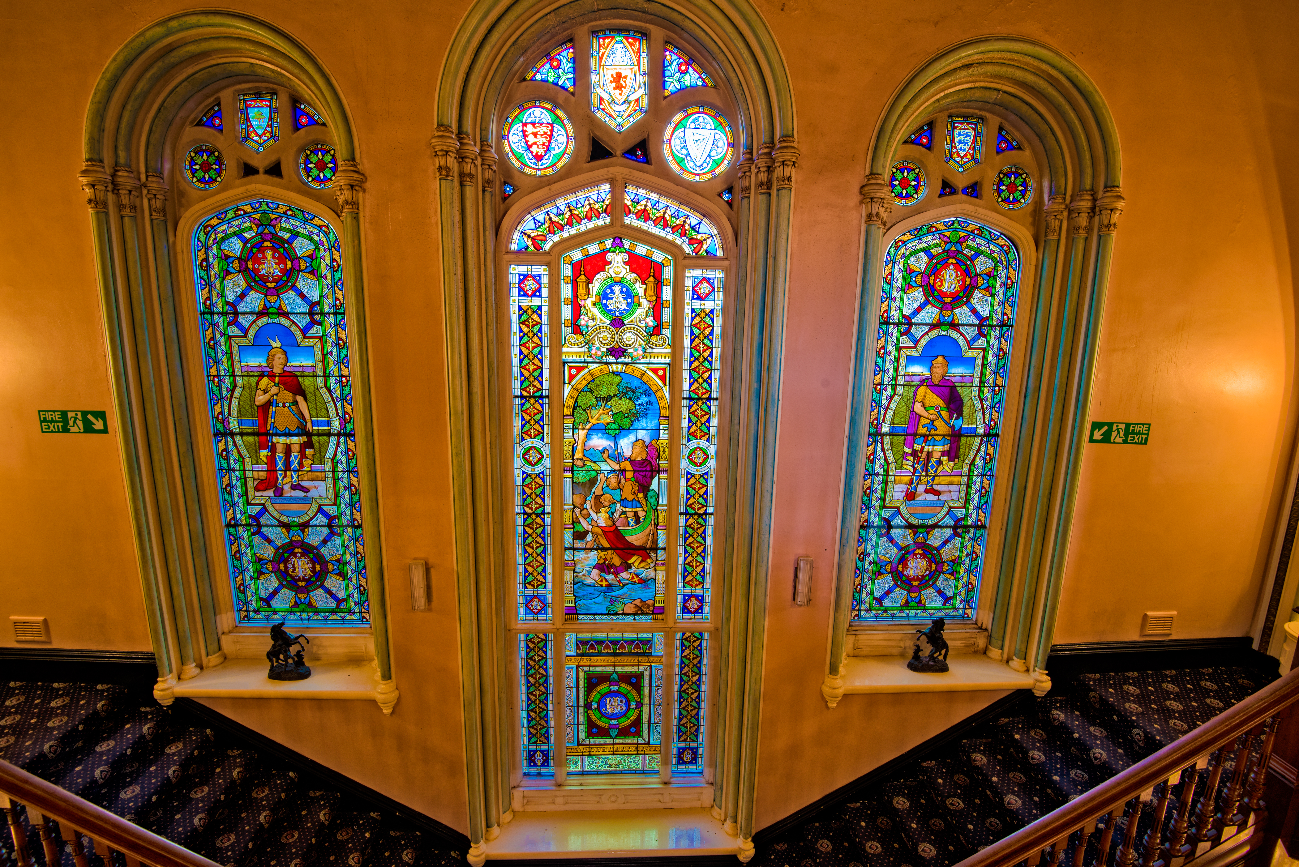Picture of stained glass windows- Business News Scotland