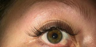 Sophie's eyelashes - Viral News