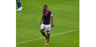 Former Hearts attacker Uche Ikpeazu thrived against Hibs | Hearts news