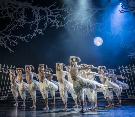 Male swans in Matthew Bourne's Swan Lake