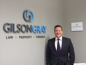 Property expert Matthew Gray of legal firm Gilson Gray