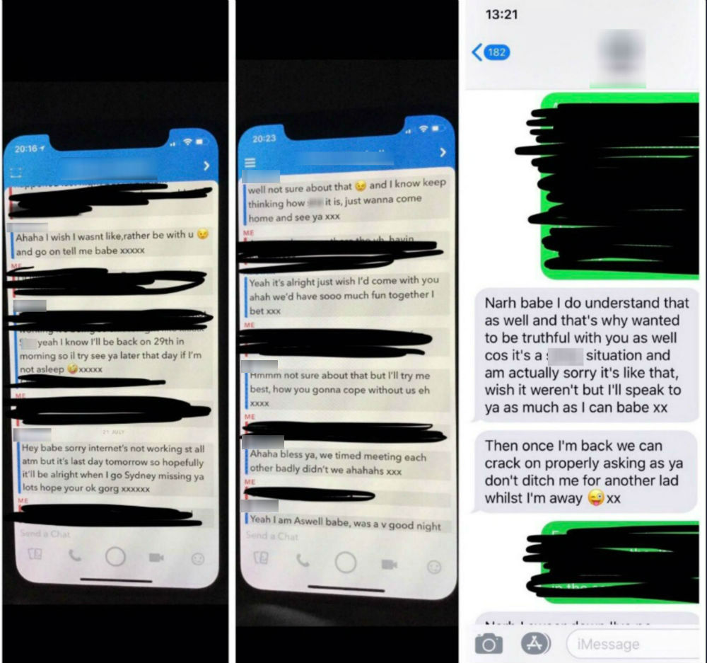 Woman takes revenge on holiday cheat ex-boyfriend by