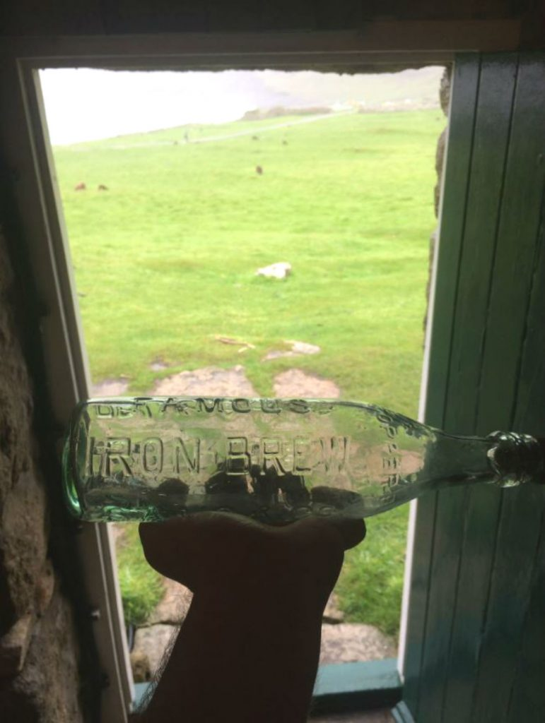 Picture of 100-year-old bottle suggests St Kildans loved Iron Brew