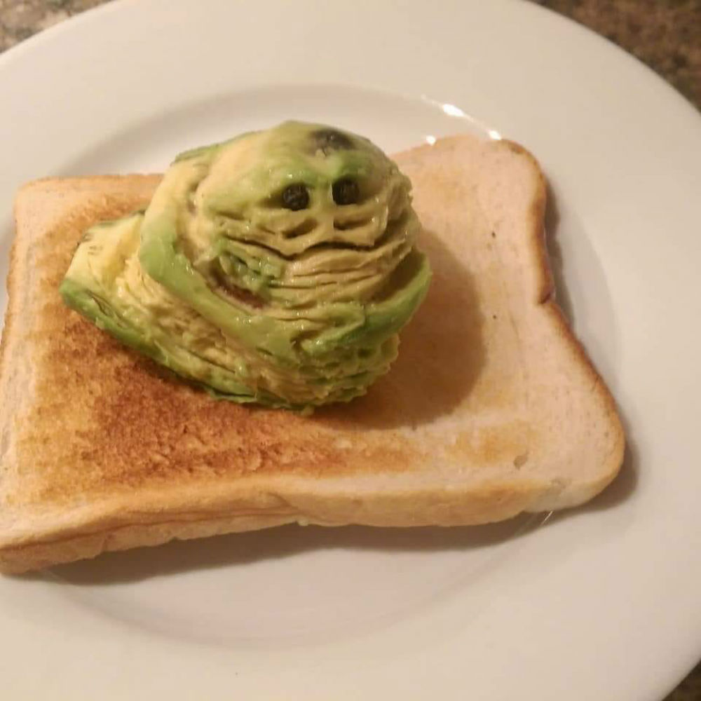 Andy's Jabbacado on Toast surprised the internet