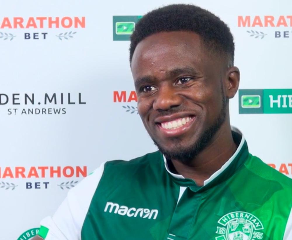 Former Hibs midfielder Gael Bigirimana   Hibs news
