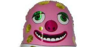 Mr blobby balloon