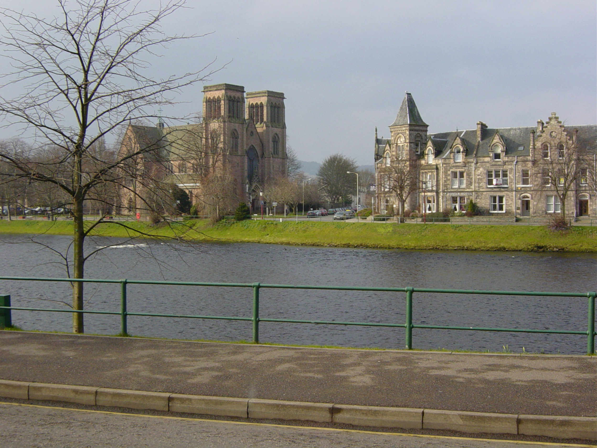 """A TRIPADVISOR reviewer has riled the people of Inverness by claiming the Highland capital is unsafe to wander after noon. The reviewer, known only as Kat W, claims to be local and warns visitors to carry a panic alarm in the """"quite dangerous"""" city. Other gems include not stopping under any circumstances if someone shouts """"Oi!"""" and avoiding Saturday afternoons altogether. The need for Inverness """"safety tips"""" has caused widespread bafflement and irritation, not least because Highlands residents are half as likely to become a victim of crime than people living in Glasgow. Kat W's ?Safety tips for Inverness? were shared on social media a few days ago and are introduced: ?Inverness is a high crime area and is quite dangerous. """"This will never be publicly admitted as it might affect the tourist industry. Here is some advice from a local."""""""