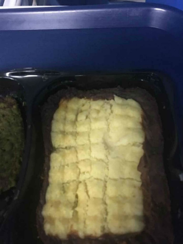 "Outraged nephew posts shocking pictures of ""f****** joke"" food served to his uncle at hospital"