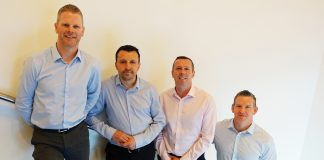 The newly appointed directs at refit and refurbishment expert, SJS near Edinburgh