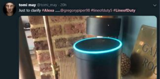 """Alexa pushed over the edge by Line of Duty fans demanding: """"Who is H?"""""""