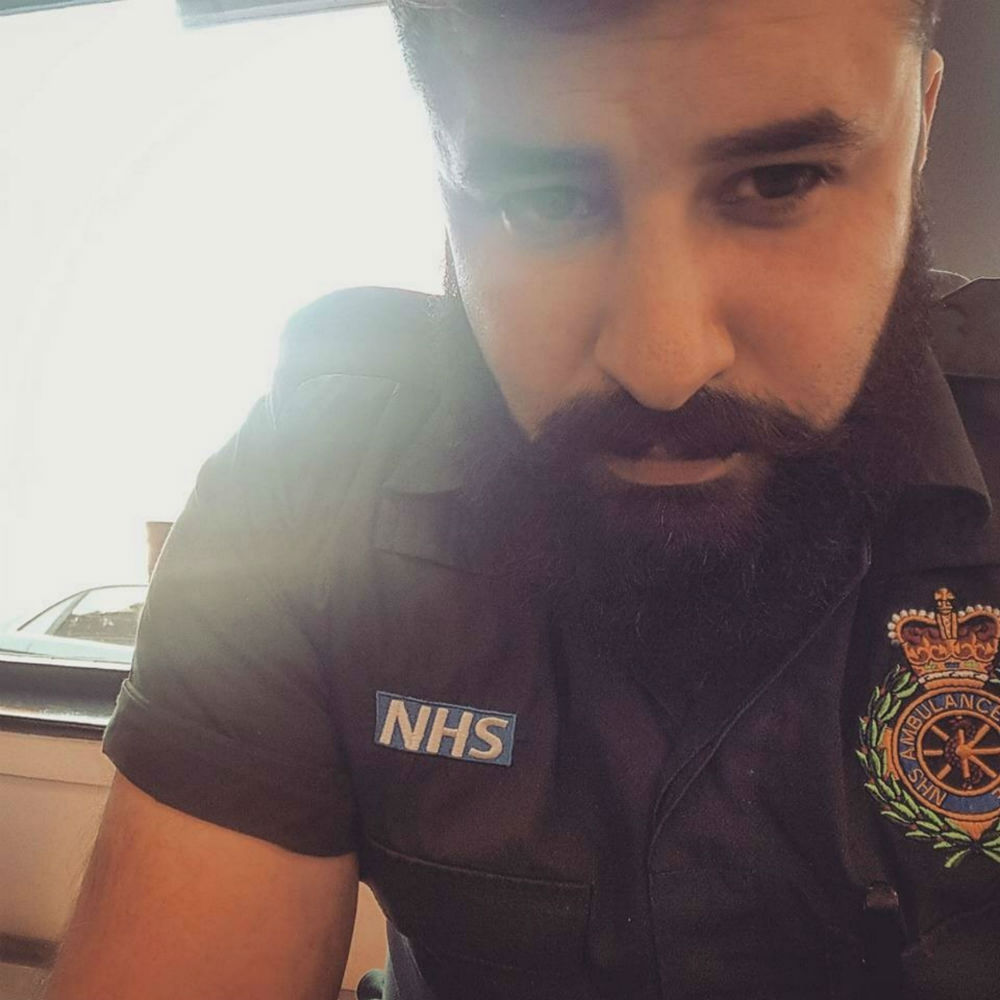 Paramedic, Chris Nixon, found an abusive note stuck to the windscreen of his ambulance. The NHS paramedic was inside treating a trauma patient.
