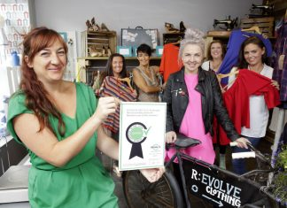 Zero Waste Scotland have recently found a positive shift in Scots second hand shopping habits. They are urging savvy shoppers to look for the Revolve logo when shopping which ensures high quality products and safety of second hand goods