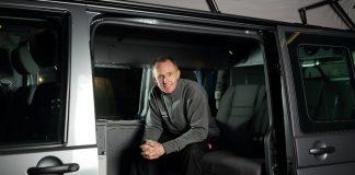 Simon Poole in Jerba Campervan. Business News Scotland