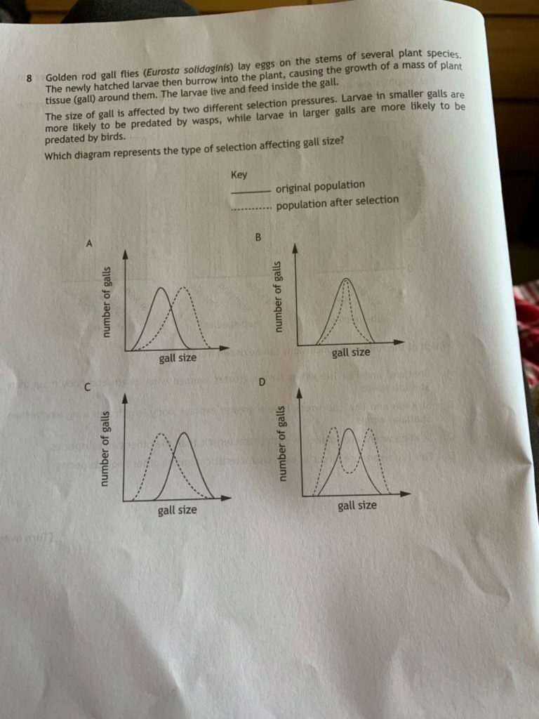 The students complained the biology paper was mostly problem solving (C) The Student Room