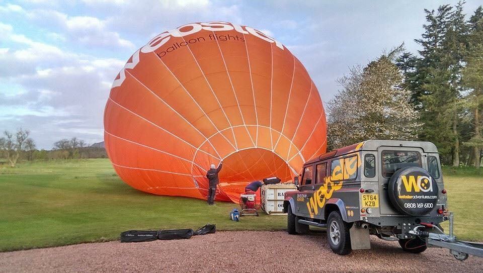 Pete has had more than 28 years experience piloting a hot air balloon