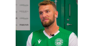 Hibs' Welsh attacker Christian Doidge | Hibs news