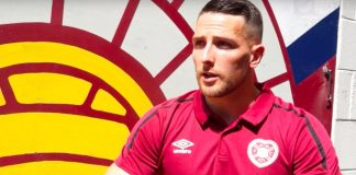 Hearts and Northern Ireland striker Conor Washington | Hearts news