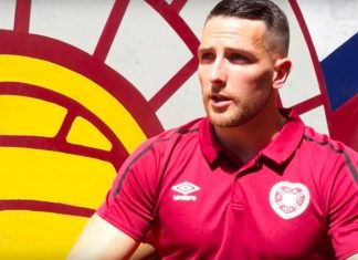 Hearts and Northern Ireland striker Conor Washington | Hearts news