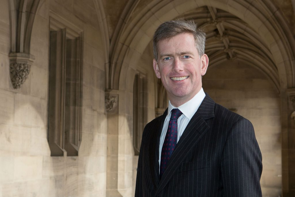 Geoffrey Stanford resigned from Fettes over a dispute over boarding policy
