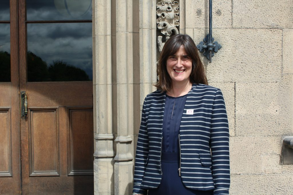 Helen Harrison will be the first head teacher of Fettes college in its 150 years