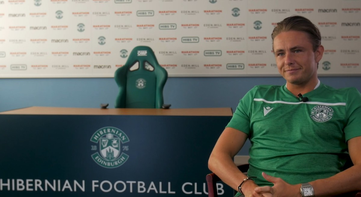 Scott Allan has been scouting for Hibs | Hibs news