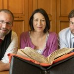 Dr Jackson Armstrong, Dr Claire Hawes and Phil Astley