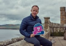 Actor Billy Boyd visits Culzean Castle as part of NTS' For the Love of Scotland campaign