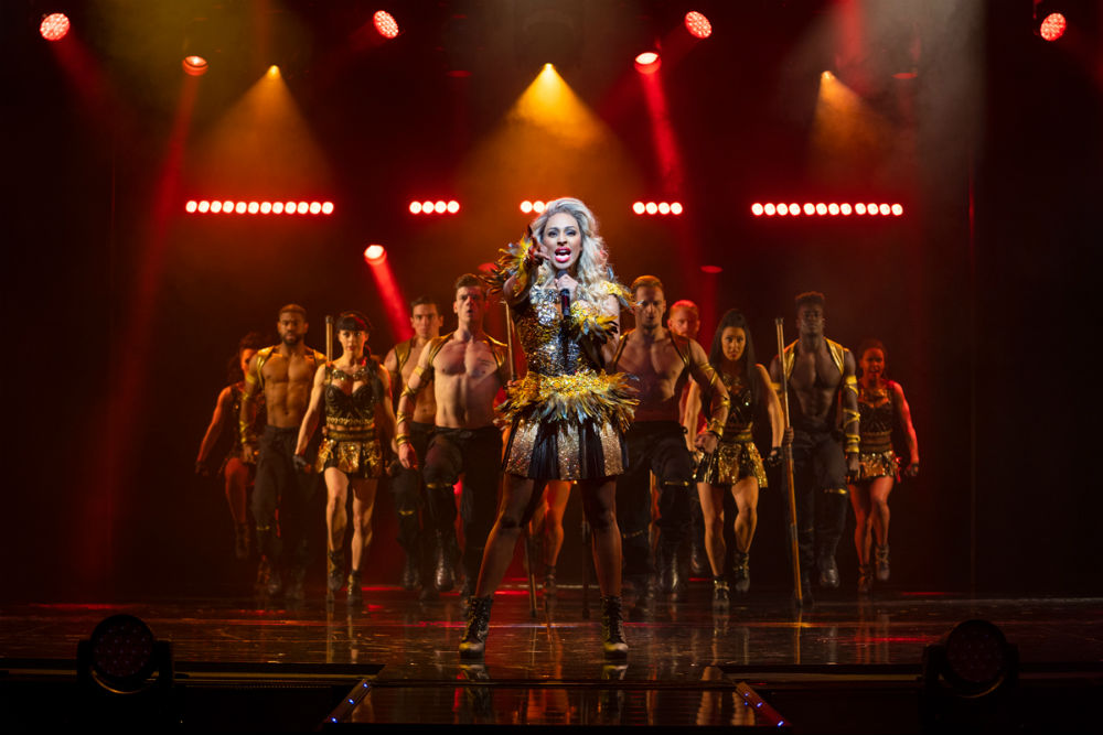 Alexandra Burke and Company in The Bodyguard UK Tour
