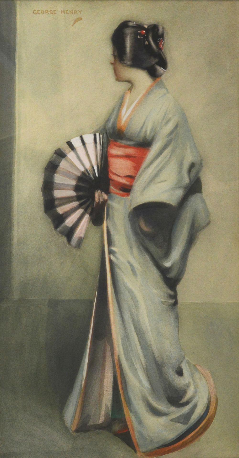George Henry's 'La Japonaise'