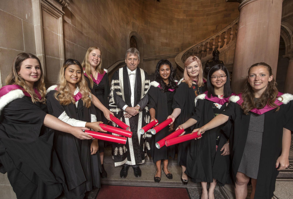 University of Edinburgh graduates