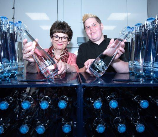 Water bottling facility at Agnes Blackadder Hall
